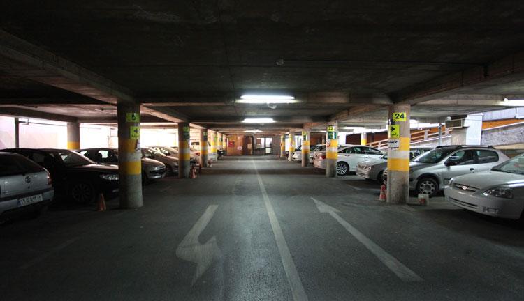 آموزش رنگ آمیزی پارکینگ