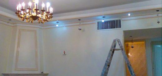 نمونه کار نقاشی ساختمان رنگ روغنی
